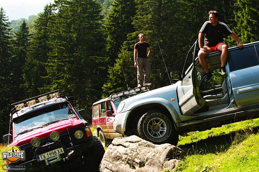 Expeditie Muntii Carpati: Muntele Rosu