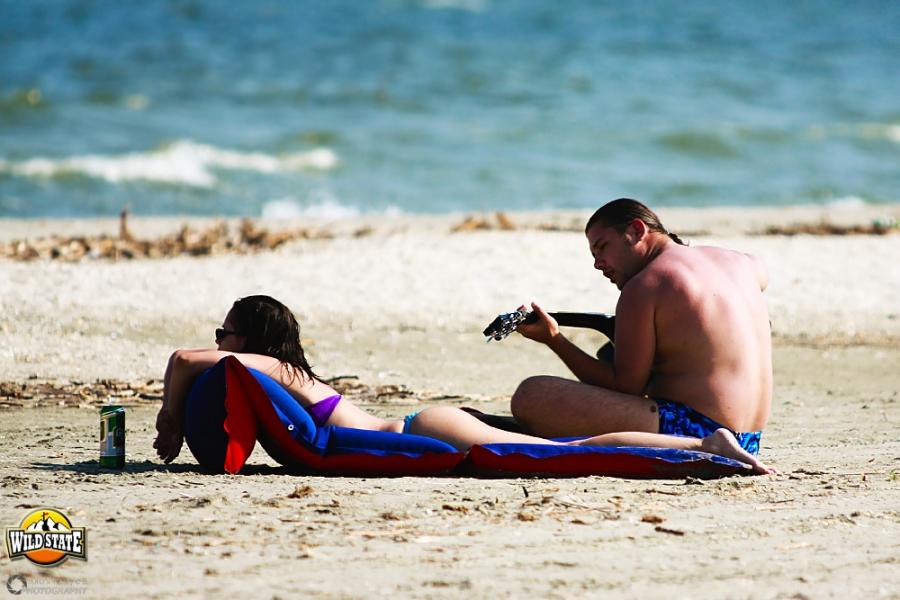 Plaja salbatica de la Corbu: Plaja