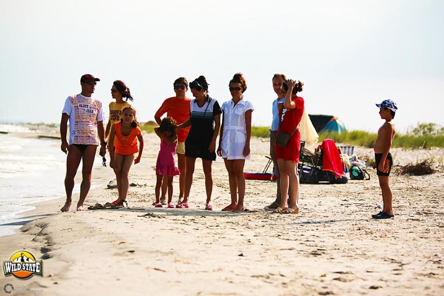 Plaja salbatica de la Corbu: Prieteni