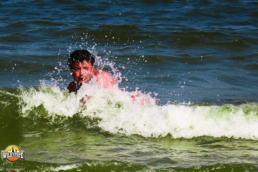 Plaja salbatica de la Corbu: Relaxare