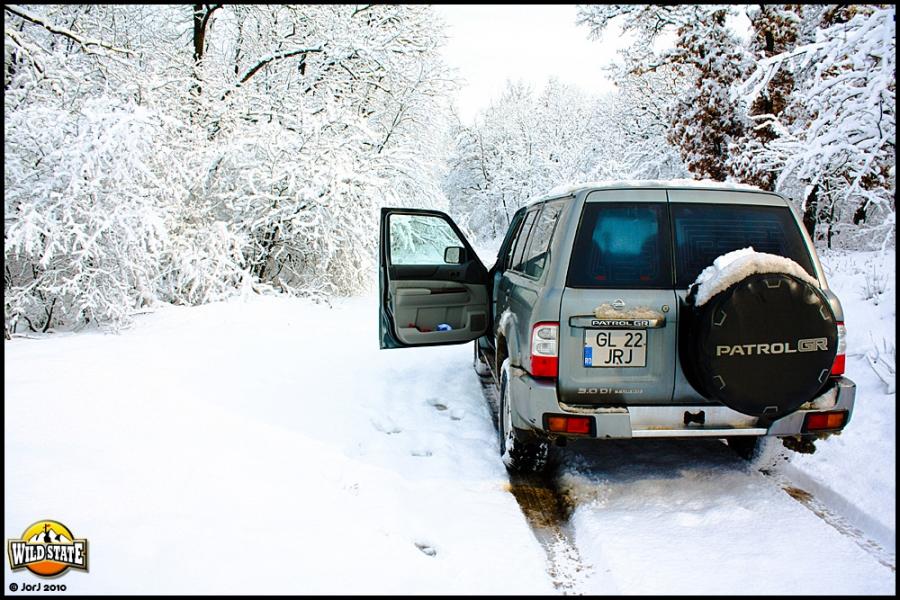 Ultima ninsoare peste Garboavele