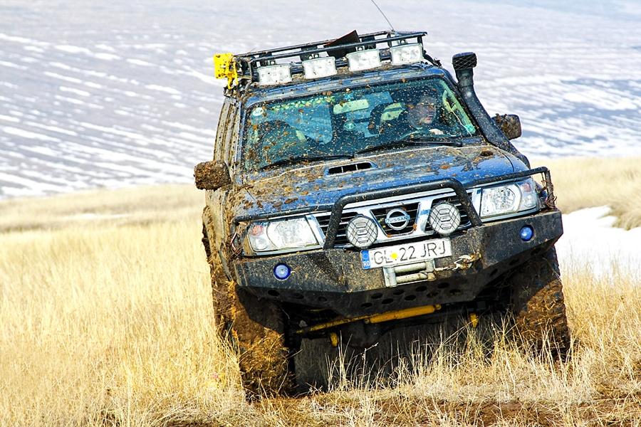 Silver Bear - Nissan Patrol Y61